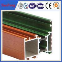 6063 Aluminum Alloy Extrusions commercial aluminum doors profiles For decoration Manufactures