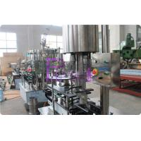 Cheap Stainless Steel Carbonated Drink Filling Machine , CSD Bottle Automatic Capping Machine for sale