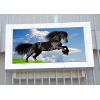 Cheap Wall Mounted Energy Saving Led Display P12 For Public Space Aluminum Cabinet for sale