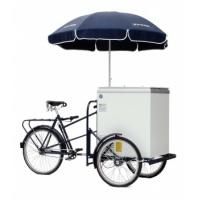 China Hot dog Bike Ice cream Bike Hot dog bicycle fast food Tricycles solar fridge bicycle on sale
