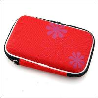 Quality HDD Protection Case Box for 2.5 Inch HARD DISK Drive New-red for sale