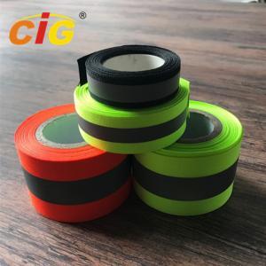 Sew / TC Retro Reflective Tape Reflective Safety Vests For Hi - Viz Garments Manufactures