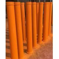 45Mn2 55Mn Twin Wall Concrete Pump Pipe , Hardened Pipe For PM / Zoomlion Pump Car
