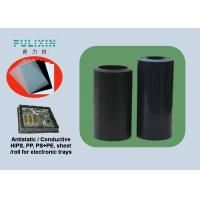 Buy cheap Coated Conductive Polystyrene for Thermoformed Tray in Green or Black Color from wholesalers
