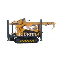 Hydraulic Crawler Water Well Borehole Drilling Rig Machine Manufactures
