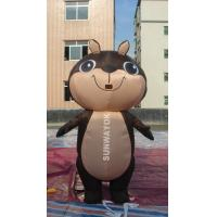 Brown Squirrel Inflatable Advertising Costumes For business Show , EN71 Manufactures