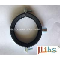 Cheap Cast Iron Clamps Carbon Steel Kinds Of Scaffolding Pipe Clamp With Rubber for sale