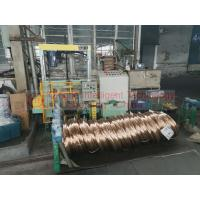 Automatic Steel Coil Packing Machine , Industrial Horizontal Wrapping Machine Manufactures
