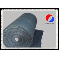 Flexible Carbon Fiber Felt Low Ash Content PAN Based 6MM Thickness For Vacuum Furnace