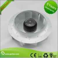 Low Noise Quiet Centrifugal Fan / AC Brushless Fan For Ventilating Units Manufactures