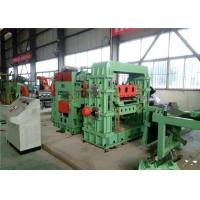 CR SS  Rotary Shear Cut To Length Line  Sheet Stacker For Precision Leveling Cutting Products Manufactures