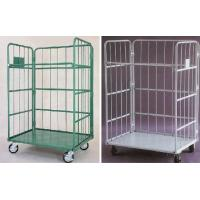 Stackable Roll Cage Trolley Anti  Static Powder Coated Nestable Roll Cages Manufactures