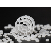 19 Holes K3 Biocell Filter Media With Virgin HDPE Material And White Color Manufactures