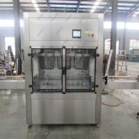 China Precision Olive Oil Filling Machine And Capping Machine With Labeling Machine on sale