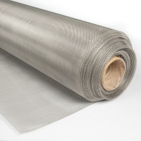 Rectangular 304L 25m Stainless Steel Wire Mesh Screen Manufactures