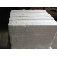 High Heat Insulation Refractory Ceramic Fiber Board White Color For Air Stove Manufactures