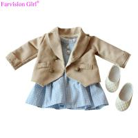 American girl doll accessories colth with dress 18 young girl doll clothes set sweet princess Manufactures