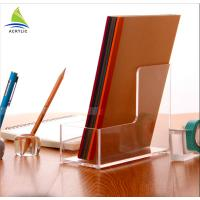 clear Acrylic Brochure Holders Brochure Pockets Magazine And Book Shelves Manufactures
