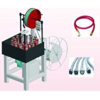 24 Spindles Pipe Production Line , Stainles Steel Hose Braiding Machine Manufactures