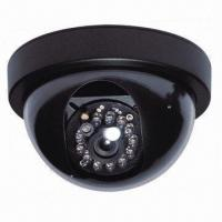 1/3-inch Sony Super HAD CCD Security Dome/12-lamp CCTV Surveillance Camera, 3.6mm Lens Manufactures