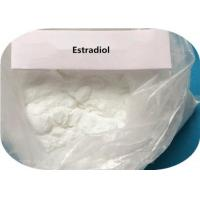 Buy cheap White Crystalline Powder Estrogen Steroids Estradiol 17α-Estradiol CAS 57-91-0 from wholesalers