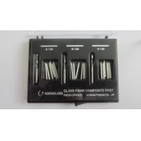 Cheap Glass Fibre Composite Post For Dental Screw Post With Radio-Opaque for sale