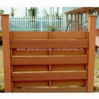 WPC Fence, 100% Recyclable, Saves Forest Resources Manufactures