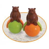 Speakers Tumbler Toy Sound And Light Ball Bear with LED Light Sound and light Manufactures