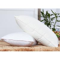 Rectangle 80% Goose Down Pillows And 250T With Customize Size Manufactures