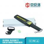 Ultra - High Sensitivity Handheld Metal Detector Standard 6F22 / 15F85 9V Battery Manufactures