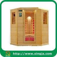 China Custom 6 Sides Wooden Far Infrared Sauna House(ISR-23) on sale