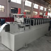 C Channel Cable Tray Roll Forming Machine , Cable Trunking Cover Metal Roll Forming Machines Manufactures
