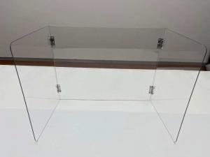 OEM Hard 3mm Electrostatic Spray Desk Divider Panels Manufactures