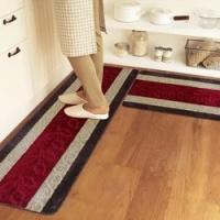 5mm Thick Pvc Backing Polyester area rugs For Kitchen / Living Room Manufactures
