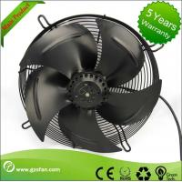 Equipment Cooling AC Industrial Exhaust Fans With Metal Impeller High Speed Manufactures