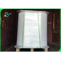 Degradable 28gsm 33mm * 5000m Straw Wrapping Paper For Packing Drinking Straws Manufactures