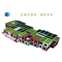 Waterproof Flat Pack Container House , 2 Story Modular Homes Easy To Assemble Manufactures