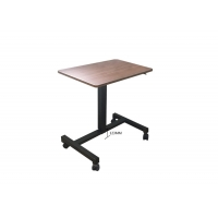China Portable Smart Lift Height Adjustable Standing Desk On Wheels on sale