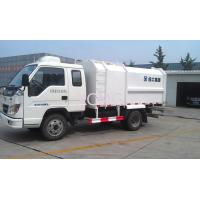 Side Loader Compactor Garbage Truck 3T With Self Dumping XZJ5072ZYS Manufactures