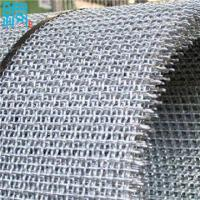 China manufacturer of pre-crimped or crimped wire screen rolls and panels on sale
