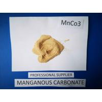Industrial Grade Manganese Carbonate Powder , MnCO3 3 Magnetic Metals Manufactures