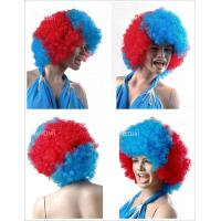 Quality Spain national Football Games Supporter Wigs accept sample order for sale