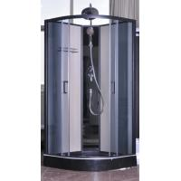 Cheap Modern Fully Enclosed Showers Units Matt Black Profiles CE SGS Certification for sale
