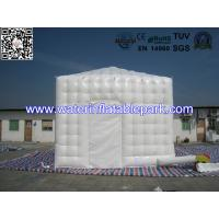 Small Size Pyramid Top Cube Inflatable Structure / Portable Inflatable Party Tent Manufactures