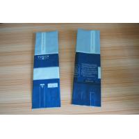 Aluminum Foil Coffee Bean Packaging Matte Blue Side Gusset with Valve Manufactures