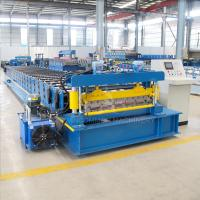 Quality Automatic Floor Deck Color Steel Roll Forming Machine for sale