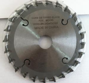 Diameter 120*Kerf 3.0/4.0*Teeth 24T*Hole 20mm TCT Carbide Tipped Scoring Sawblade Manufactures