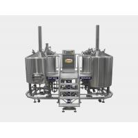 20 BBL Direct Fired Brewhouse , AISI 304 Micro Brewing Equipment For Brewing Institute Manufactures
