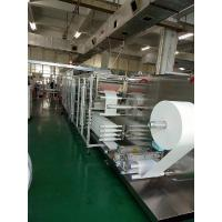 CE Wet Wipes Production Line 19KW Wet Installation Power Full servo motor Manufactures