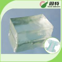 Light Transparent Block Synthetic polymer resin Baby Diaper Industrial Hot Melt Glue Synthetic Polymer Resin Manufactures